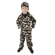 Rappa Soldaten-Kostüm, Größe M - Kinderkostüm