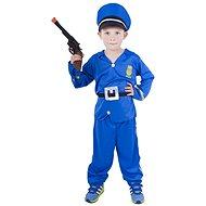 Rappa Polizist, Größe M - Kinderkostüm