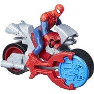 Spider-Man mit Motorrad - Figur