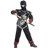 Silberner Ninja Größe M - Kinderkostüm