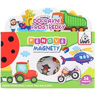 Bildungsspielzeug Schaummagnete - Maschinen - Didaktisches Spielzeug