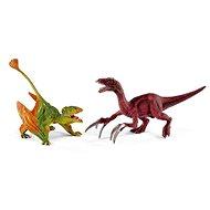 Schleich Set Dimorphodon und Therizinosaurus Farbe - Spielset