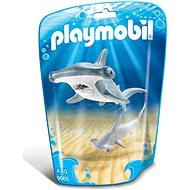 Playmobil 9065 Hammerhai mit Baby - Baukasten