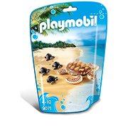 Playmobil 9071 Wasserschildkröte mit Babys - Baukasten