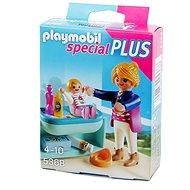 PLAYMOBIL 5368 Special Plus: Mutter mit Baby-Wickeltisch - Baukasten