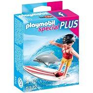 Baukasten Playmobil 5372 Surferin mit Delphin - Baukasten