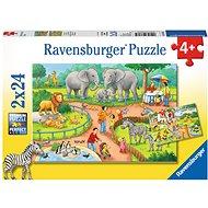 Ravensburger 78134 Ein Tag im Zoo - Puzzle