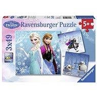 Ravensburger 92642 Disney Ice Kingdom: Ein Schneeabenteuer - Puzzle