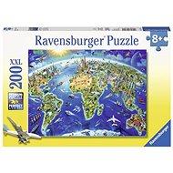 Ravensburger 127221 Große Weltkarte - Puzzle