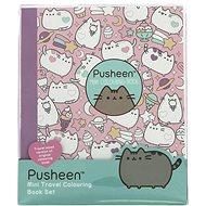 Pusheen Malbuch zum Reisen mit Katzenmotiven - Kreatives Spielzeug