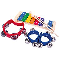 Bino Set von Musikinstrumenten - Musikspielzeug