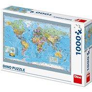 Politische Landkarte der Welt - Puzzle