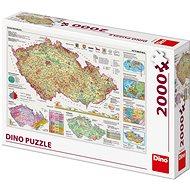Landkarten der Tschechischen Republik - Puzzle