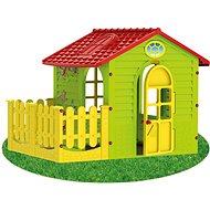Gartenhaus für Kinder mit Zaun, Middle - Kinderspielhaus