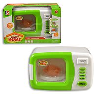 Kinder-Mikrowelle mit Batterien - Spielzeug