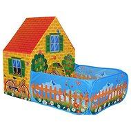 Zelt Haus mit Gartenzaun - Spielzelt