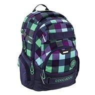 Coocazoo CarryLarry2 Green Purple District - Schulrucksack