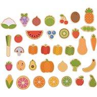 Bigjigs Toys Magnete Obst und Gemüse - Deko fürs Kinderzimmer