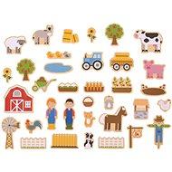 Bigjigs Toys Magnete Bauernhof - Deko fürs Kinderzimmer