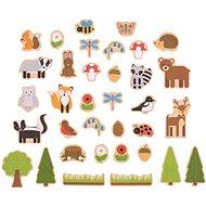 Bigjigs Toys Magnete Waldtiere - Deko fürs Kinderzimmer