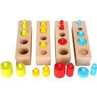 Didaktisches Spielzeug Small Foot Bunte Gewichte zum Einlegen - Didaktická hračka