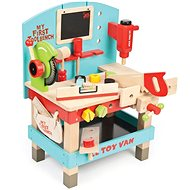 Le Toy Van Meine erste Werkbank mit Werkzeugen - Kinderwerkzeug