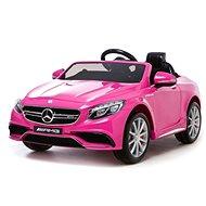 Mercedes-Benz S63 AMG Elektroauto - pink - Elektroauto für Kinder