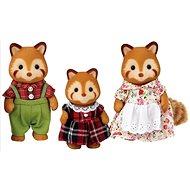 Sylvanian Families - Rote Panda: Familie Puschel - Figuren