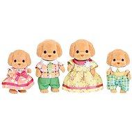 Sylvanian Families - Toy-Pudel: Familie Wuschl - Figuren