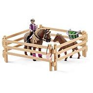 Schleich 42363 Jezdec s islandskými poníky a příslušenstvím - Figurenset