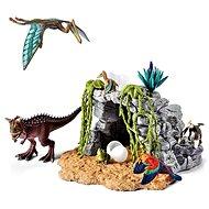 Schleich Dinosaurier-Spiel mit einer Höhle, Set - Spielset
