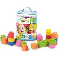 Clementoni Clemmy Baby - 24 Blöcke im Kunststoffsack - Auto