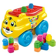 Clementoni Clemmy Baby - Tigerwagen mit Würfeln - Auto