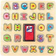 Didaktisches Spielzeug Woody Stempel/Puzzle ABC - Didaktická hračka
