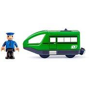 Woody Zubehör Moderner Elektro-Zug - grün - Spieleisenbahn-Zubehör