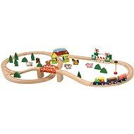 "Modelleisenbahn Woody ""Mašinka"", 45-teilig - Modelleisenbahn"