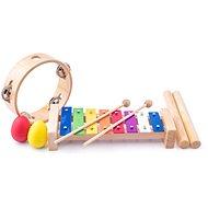 Musikspielset aus Holz A - Musikspielzeug