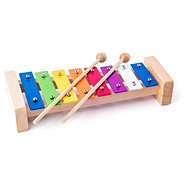 Xylofon Metallic Woody - Musikspielzeug