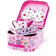 Woody Picknickkorb mit Tee-Set, 8 Stück - Topfset