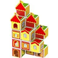 Magnetischer Baukasten Magicube - Burgen und Häuser