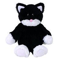 Attic Treasures Bessie - Katze schwarz-weiß - Plüschspielzeug