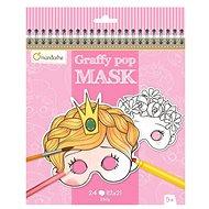 Avenue Mandarine Karneval-Masken zum Ausmalen für Mädchen - Kreatives Spielzeug