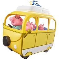 Peppa Pig - Caravan mit Zubehör + 4 Figuren - playing gesetzt