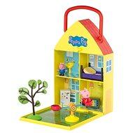 Peppa Pig - Haus mit Garten + Figur und Zubehör Spielset - playing gesetzt