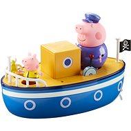Peppa Pig - Boot + 3 Figuren - playing gesetzt