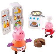 Peppa Pig - Kuchyňská sada + 2 figurky - playing gesetzt