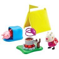 Peppa Pig - Kempingová sada + 2 figurky - playing gesetzt