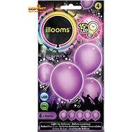 LED Ballons - lila 4 Stück - Ballons