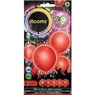 LED-Ballons - rot 4 Stück - Ballons