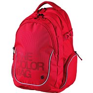 Rucksack Teen One Color rot - Rucksack